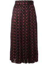 FENDI   двухцветная юбка Fendi   Clouty
