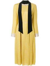 FENDI   платье-миди с длинными рукавами Fendi   Clouty