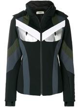 FENDI   приталенная куртка колор блок  Fendi   Clouty
