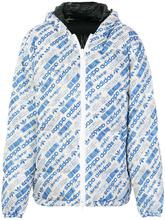adidas Originals by Alexander Wang | двусторонняя куртка-пуховик с логотипом Adidas Originals By Alexander Wang | Clouty