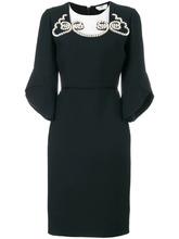 FENDI   декориованное платье-карандаш  Fendi   Clouty