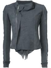 RICK OWENS | байкерская куртка с низким вырезом  Rick Owens | Clouty