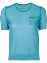 Bottega Veneta | футболка с контрастными панелями Bottega Veneta | Clouty