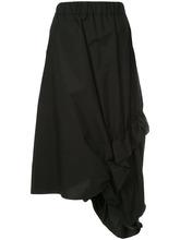 Marni   elasticated asymmetric skirt Marni   Clouty