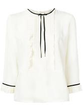 Marc Jacobs | плиссированная блузка с рюшами Marc Jacobs | Clouty