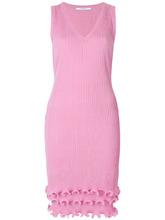 GIVENCHY | приталенное платье с рюшами Givenchy | Clouty