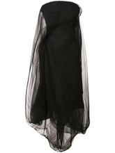 RICK OWENS | платье без бретелей 'Twist' Rick Owens | Clouty