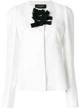 Rochas | приталенный пиджак с бантом спереди  Rochas | Clouty