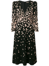 Bottega Veneta | платье с V-образным вырезом и принтом бабочек Bottega Veneta | Clouty