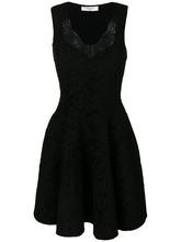 GIVENCHY | расклешенное платье с кружевной отделкой  Givenchy | Clouty