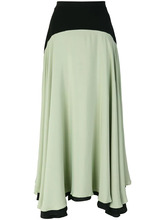 CHRISTOPHER KANE | асимметричная двухцветная юбка Christopher Kane | Clouty
