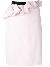 Giambattista Valli   асимметричная юбка с баской Giambattista Valli   Clouty