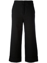 PT01 | широкие укороченные брюки Pt01 | Clouty