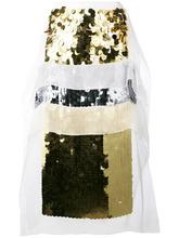 CHRISTOPHER KANE | юбка длины миди с отделкой пайетками Christopher Kane | Clouty