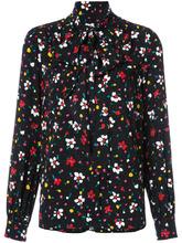 Marc Jacobs | блузка с воротником на завязке и цветочным узором Marc Jacobs | Clouty