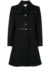 FENDI   однобортное пальто Fendi   Clouty