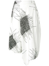 UMA Raquel Davidowicz | printed wide bermuda shorts Uma | Raquel Davidowicz | Clouty