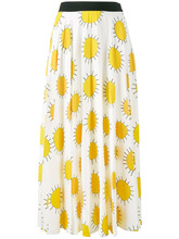 CHRISTOPHER KANE | юбка с принтом солнца  Christopher Kane | Clouty