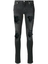 GIVENCHY | джинсы с потертой отделкой Givenchy | Clouty