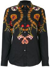 Etro   рубашка с цветочным принтом Etro   Clouty