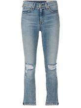 RAG & BONE | рваные укороченные джинсы Rag & Bone /Jean | Clouty