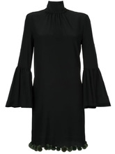 FENDI   платье с рукавами-колокол Fendi   Clouty