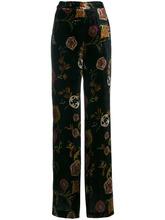 Etro | брюки клеш с вышивкой  Etro | Clouty