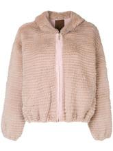 Liska | меховая куртка на молнии Liska | Clouty