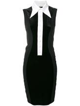 GIVENCHY | мини платье с контрастным воротником Givenchy | Clouty