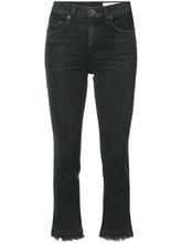 RAG & BONE | укороченные джинсы с необработанными краями Rag & Bone /Jean | Clouty