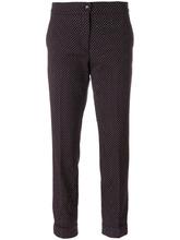 Etro | укороченные брюки с геометрическим принтом  Etro | Clouty