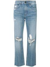 RAG & BONE | состаренные укороченные джинсы  Rag & Bone | Clouty