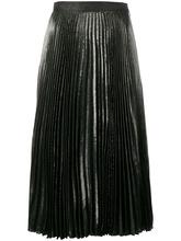 CHRISTOPHER KANE | плиссированная юбка с металлическим отблеском Christopher Kane | Clouty