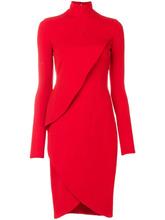 GIVENCHY | многослойное приталенное платье Givenchy | Clouty