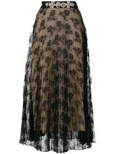CHRISTOPHER KANE | кружевная юбка со стразами Christopher Kane | Clouty