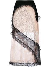 CHRISTOPHER KANE | кружевная юбка в стилистике пэчворк Christopher Kane | Clouty