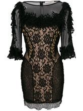 CHRISTOPHER KANE | платье с отделкой 'Ma' Christopher Kane | Clouty