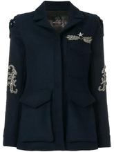 ASH | однобортное пальто с отделкой  Ash | Clouty
