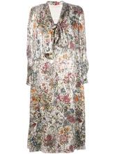 Tory Burch | платье с цветочным принтом Tory Burch | Clouty