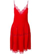 GIVENCHY | трикотажное платье с кружевной отделкой  Givenchy | Clouty