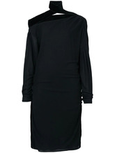 Tom Ford   платье с открытыми плечами и деталями со сборкой  Tom Ford   Clouty