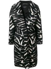 Rochas   пальто с крупным воротником Rochas   Clouty