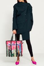 Balenciaga | Зеленый жакет из шерсти и мохера | Clouty