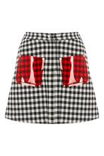 Vivetta   Короткая юбка в клетку   Clouty