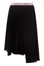 Vivetta   Черная юбка с плиссировкой   Clouty