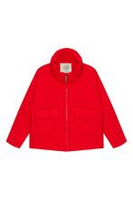 MILA MARSEL    Красная куртка с карманами   Clouty