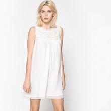 SCHOOL RAG | Платье короткое, прямое, однотонное, без рукавов | Clouty