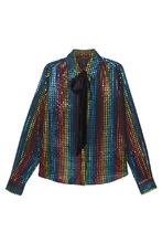 Marc Jacobs | Блузка с разноцветным узором | Clouty