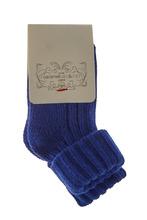 Caramel Baby & Child | Синие носки с отворотами | Clouty