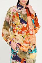 GUCCI | Цветная блузка с ярким принтом | Clouty